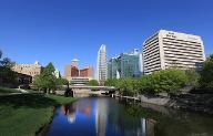 Photo of downtown Omaha by M.J.B.