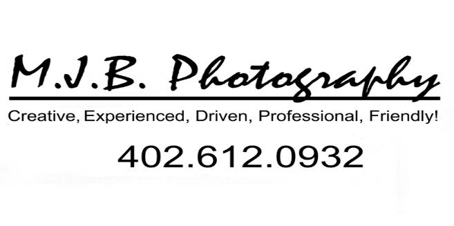 This is an advertising baner for M.J.B. Photography Studio