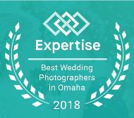 award winning wedding photography in Omaha logo
